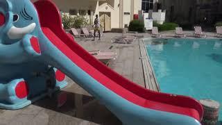 Египет зимой Красное море 2021 Аквапарк отель Кингтут что на территории отель Сфинкс Шаповаловы