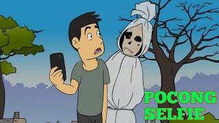 Kartun Lucu : Pocong Selfi Jaman Now