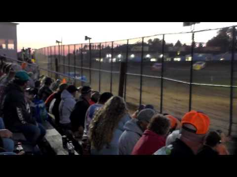 Late Model Heat 2 @ Marshalltown Speedway 08/04/17