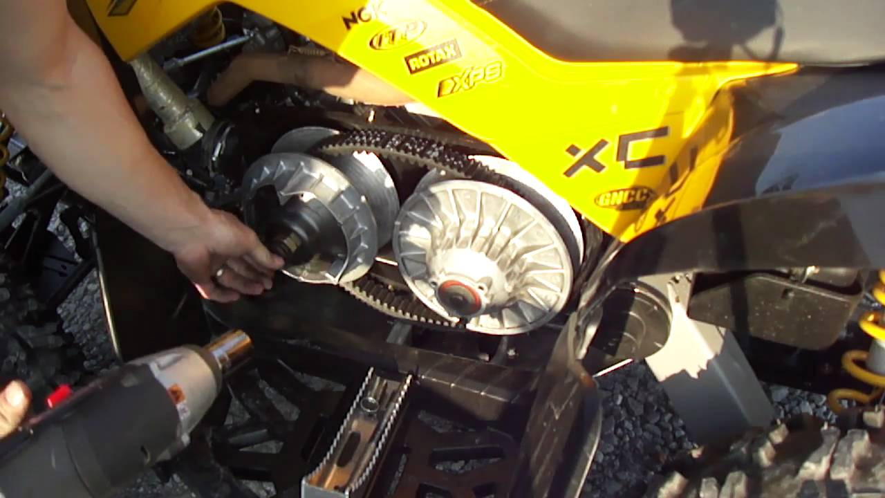 Complete Cvtech Clutch Install On Can Am Brp Outlander