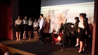 Спектакль в честь 70-летия Победы в Великой Отечественной войне в Албании