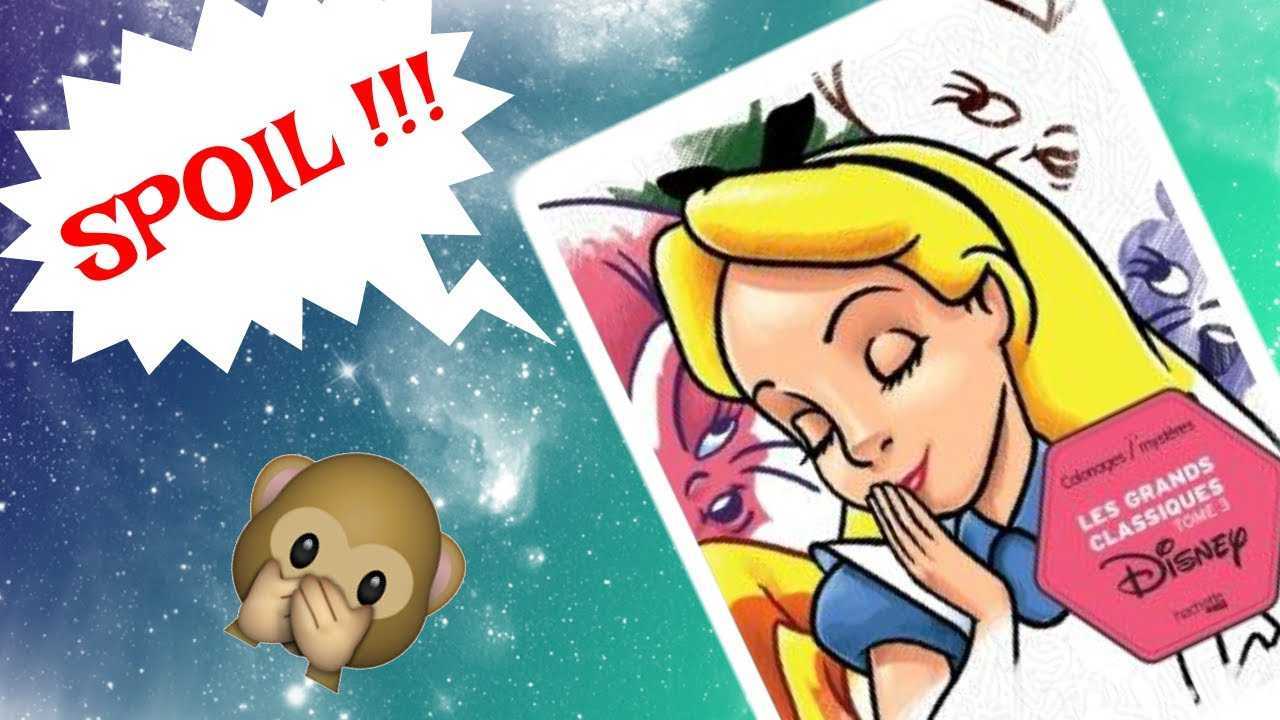 Coloriage Disney Tome 3.Solution 1 Spoil Les Grands Classique Disney Tome 3 Youtube