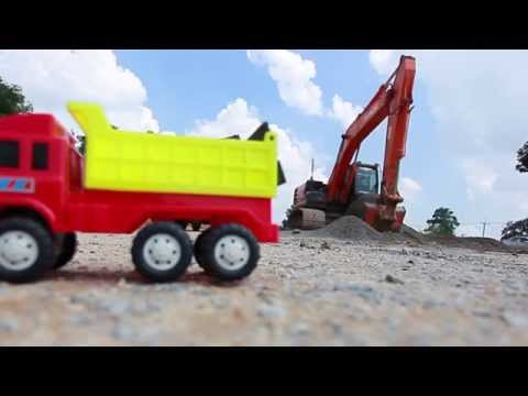 รีวิวของเล่นเด็ก รถแม็คโคร EXCAVATOR BACKHOE 3