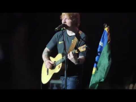 Ed Sheeran - Lego House, Sao Paulo - Brasil 04/28/15 HD
