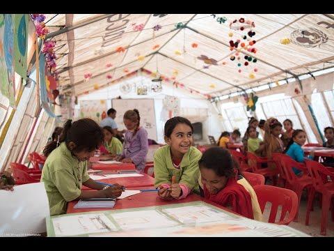 Informal education in Debaga Camp