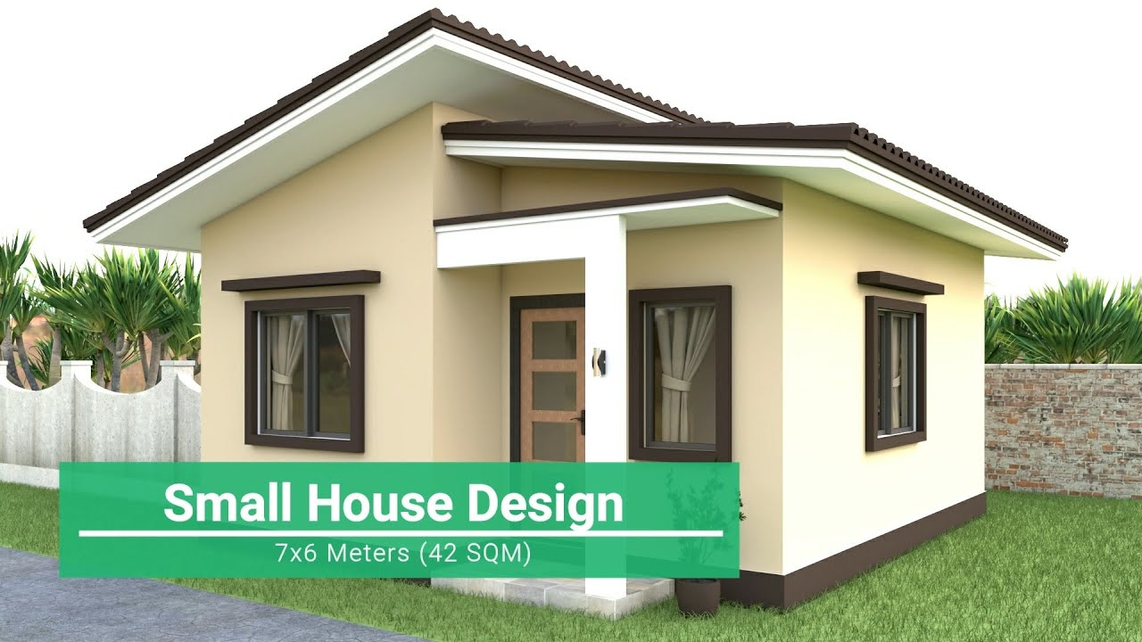 Small House Design 7x6 Meters Youtube