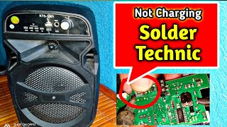 Download Not charging   charging pin issue   solder technic   nilalakong portable amplifier