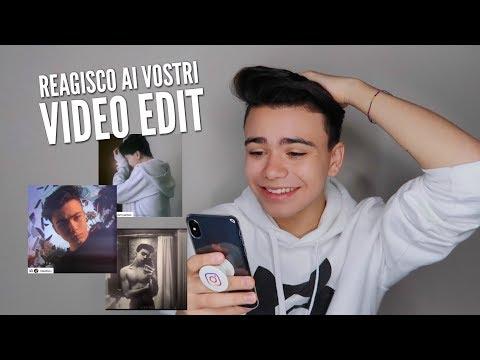 REAZIONE AI VOSTRI VIDEO EDIT!!!
