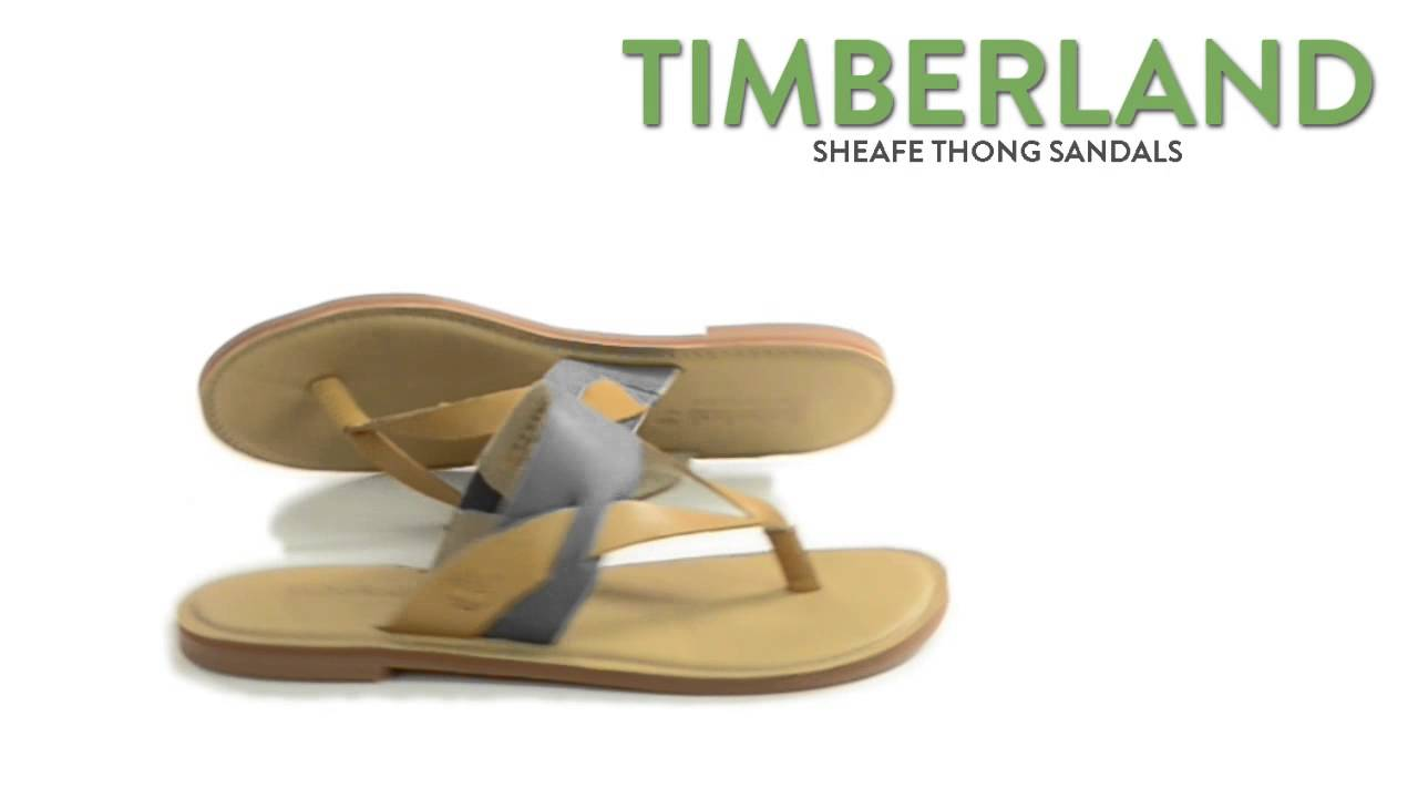 b9223529c9eb0a Timberland Earthkeepers Sheafe Thong Sandals (For Women) - YouTube