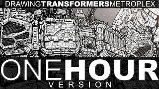 DRAWING TRANSFORMERS METROPLEX - 1 HOUR VERSION