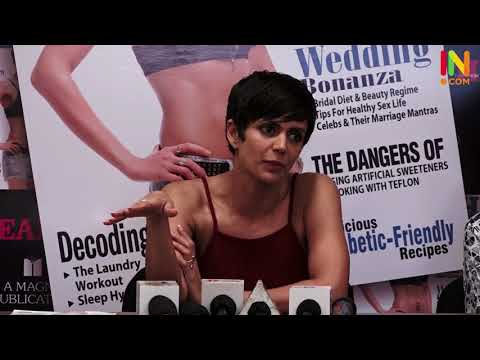 14=11=17 HEALTH & NUTRITION COVER PAGE UNVEILING BY MANDIRA BEDI