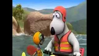 Бернард мультфильм смотреть всем! На каноэ!