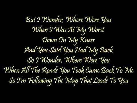 maps|maroon-5|lyrics
