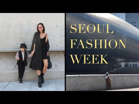 Seoul Fashion Week SS19 | SFW VLOG (it's a busy one)