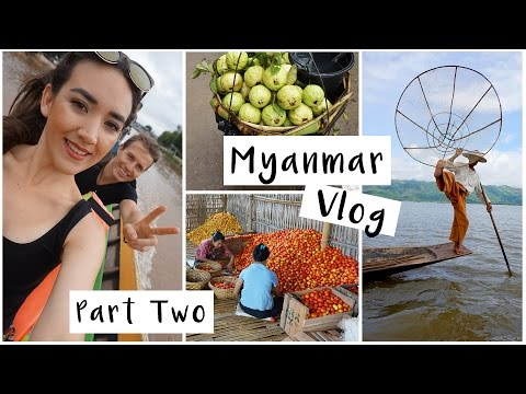 Travel Vlog Myanmar Part Two - Inle Lake