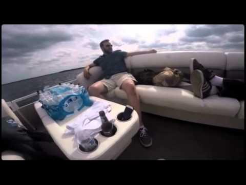 Project engineers chilling on Lake Minnetonka