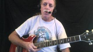 "How to Play ""I'm Your Professor"" - Blues Guitar Lesson"