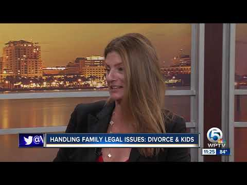 Family legal issues: Divorce and kids