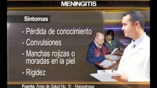ECTV NOTICIAS-MENINGITIS CAUSAS Y EFECTOS GYQ