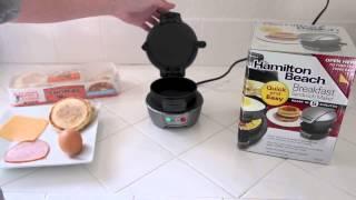 【口痕影片】2011道地極品玄米茶 五分鐘搞定早餐的三文治製造機!!