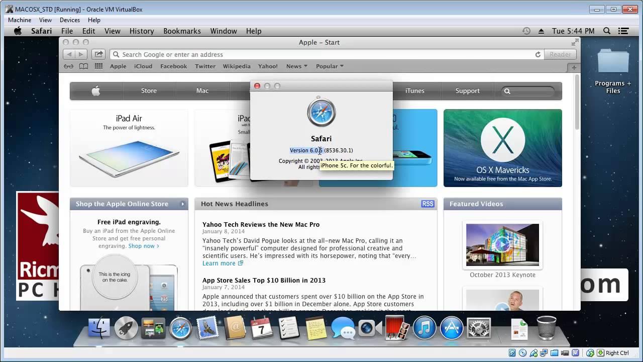 Check Apple Safari browser version (MAC) - YouTube