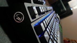 mechanical Keyboard Review!  Gigabyte Aivia Osmium w/ Cherry MX Browns