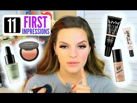 TRYING NEW MAKEUP PRODUCTS! First Impressions & Demo | Casey Holmes