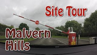 Malvern Hills Site Tour | Camping & Motorhome Club Site