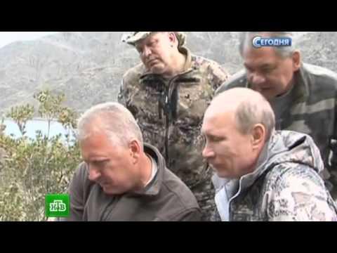 Владимир Путин поймал 20-килограммовую щуку на отдыхе в Тыве
