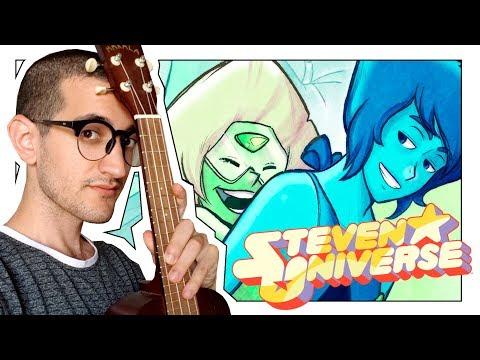 Steven Universe - LAPIS LÁZULI Y PERIDOT - Kaos