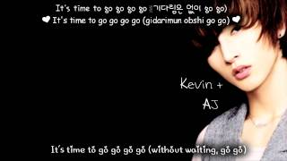 ukiss time to go eng sub with lyrics on screen colour coded http://...