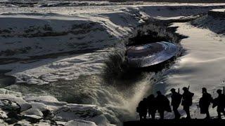นักวิจัยชาวรัสเซียอ้างพบจานบินUFOใต้รอยแยกน้ำแข็งทวีปแอนตาร์กติกาจากกลูเกิ้ลเอิร์ธ