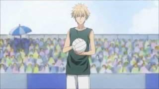 Kaichou Wa Maid Sama - Volleyball Scene!