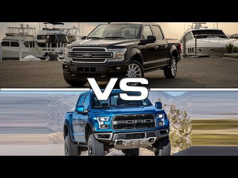 Ford F- Limited vs  Ford F- Raptor Technical Specifications