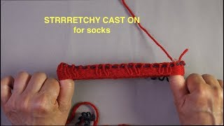 Stretchy CO for Socks
