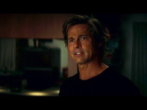 Клифф Бут и питбуль Бренди против хиппи | Однажды в Голливуде (2019)