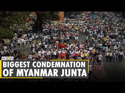 News Alert: Defence Chiefs of 12 Nations condemn violence by Junta   Myanmar Coup   English News