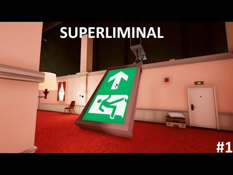 Portal + Stanley Parable. Superliminal Прохождение #1