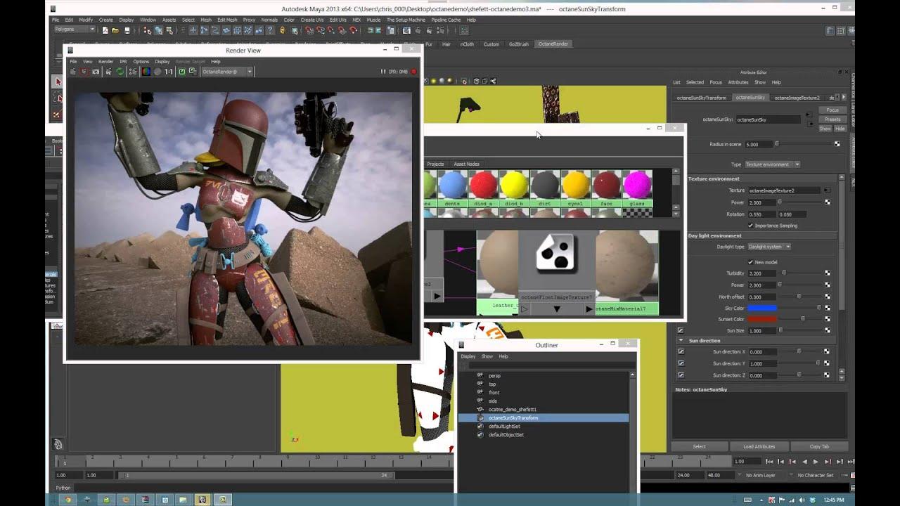 Octane Render X64 Download - staffpot