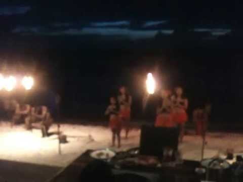 The Traditional Chamorro Show On The Beach! :)