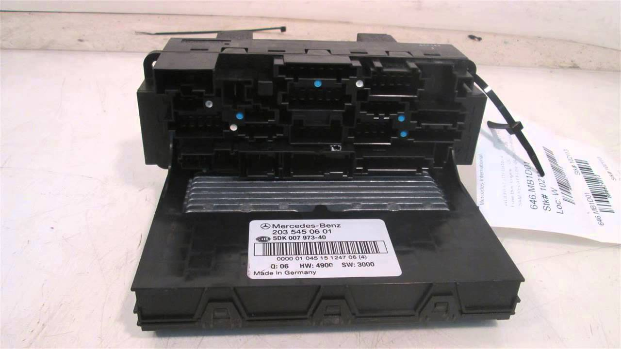 maxresdefault 2001 mercedes c240 sam relay fuse box 2035450601 mbiparts com c240 fuse box at eliteediting.co