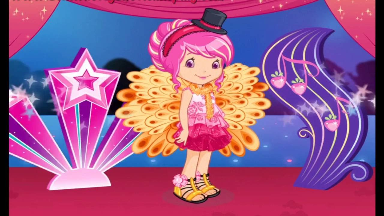 Strawberry Shortcake Dress Up Dreams Part 5 Game Player ...