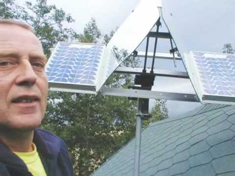 Solar Pv Mirror Concentrators Youtube