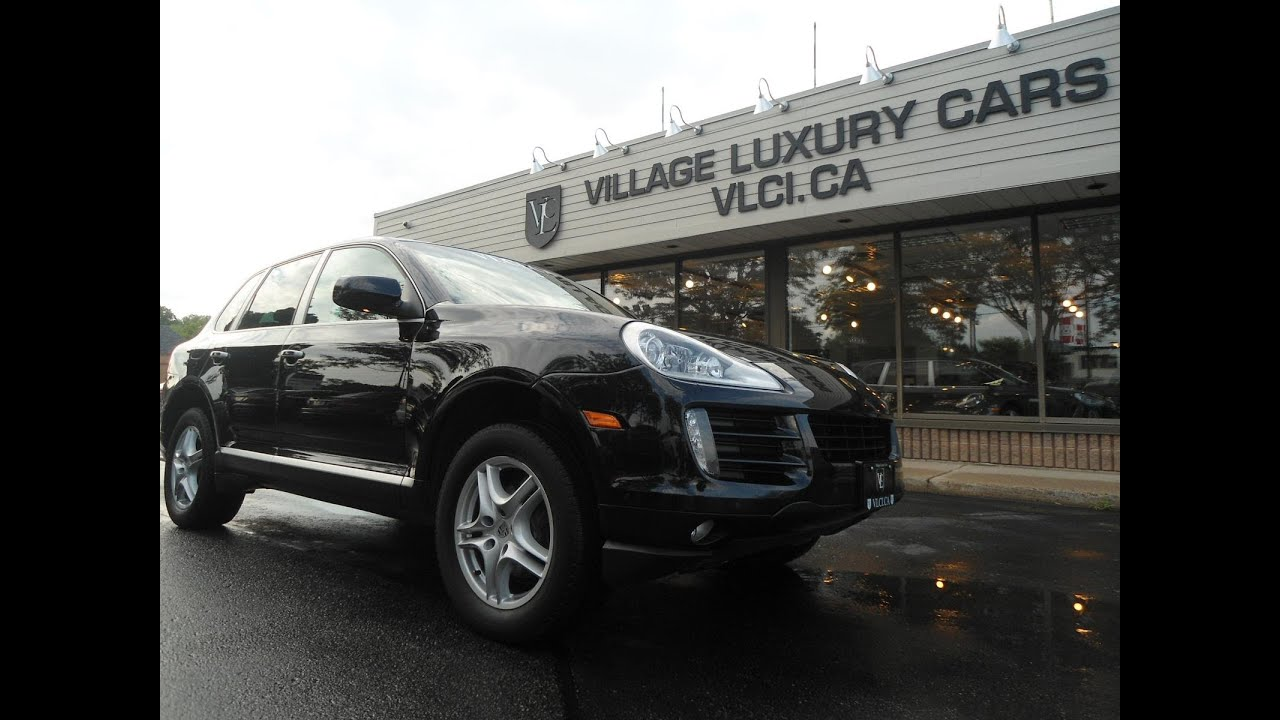 2009 Porsche Cayenne In Review Village Luxury Cars Toronto