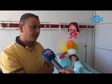 Bayram'da Yüksekten Düşen Berfin, Hayata Tutunarak Ailesine Bayram Yaşattı