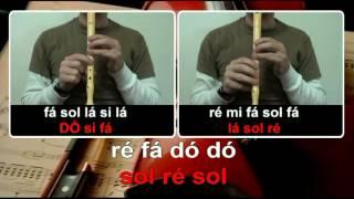 I Have a Dream - Karaoke para flauta a Duas Vozes + Orff - EducaçãoMusical - José Galvão.mpg