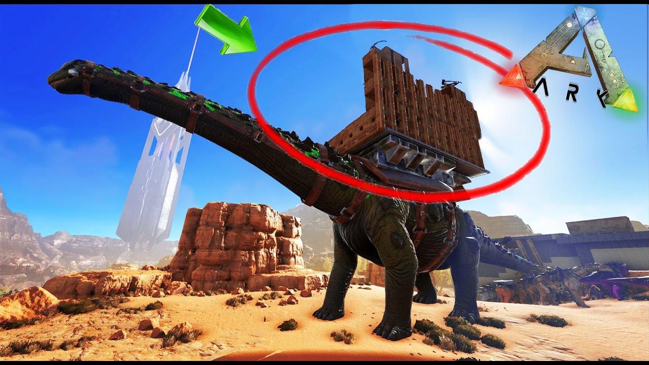 Un Fuerte Encima Del Titanosaurio    D - Ark