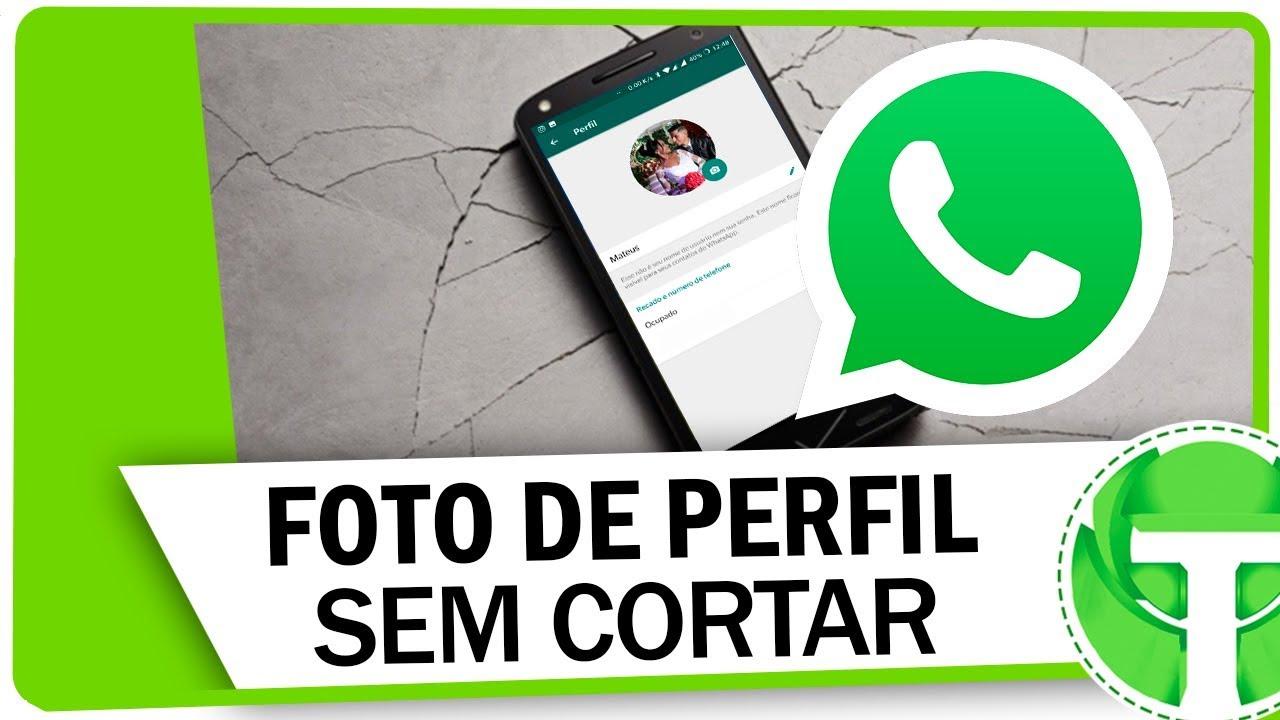 Truque Escondido No Whatsapp Para Colocar Foto Inteira De Perfil Sem Aplicativos