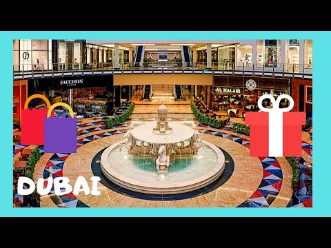 Huge and luxurious, the Mall of the Emirates, Dubai, United Arab Emirates