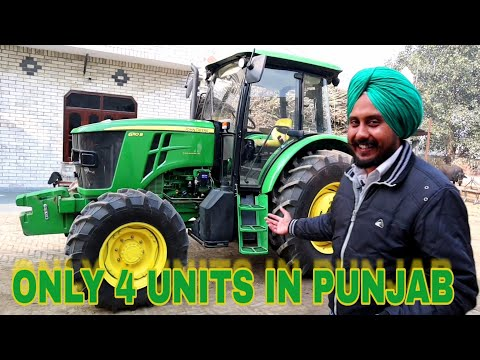 Only 4 in Punjab | John Deere 6110B full Detailed Review|GURPREET SINGH|